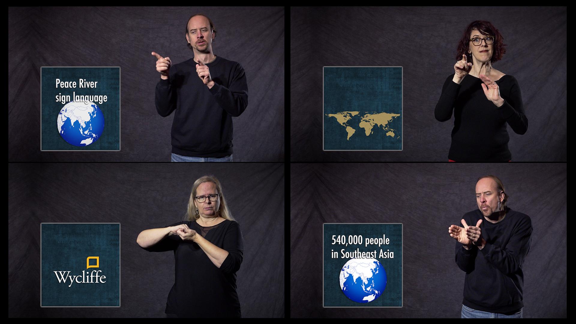 Peace River Sign Language promo pic